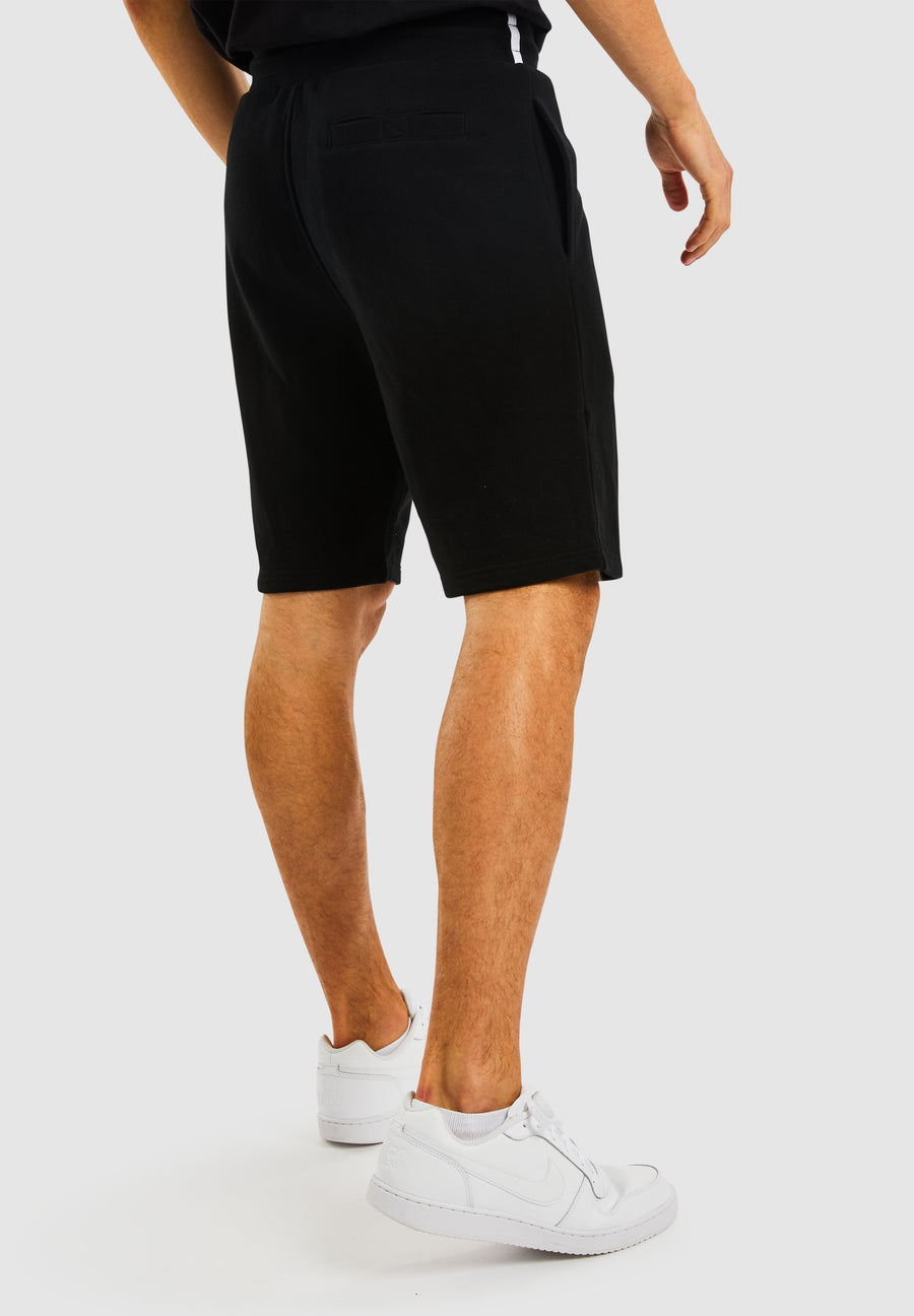 Tiller Fleece Short - Black