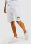 Tiller Fleece Short - White
