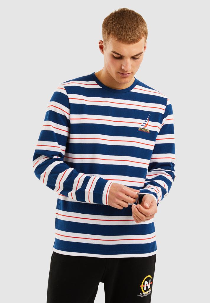 Barrack L/S T-Shirt - Navy