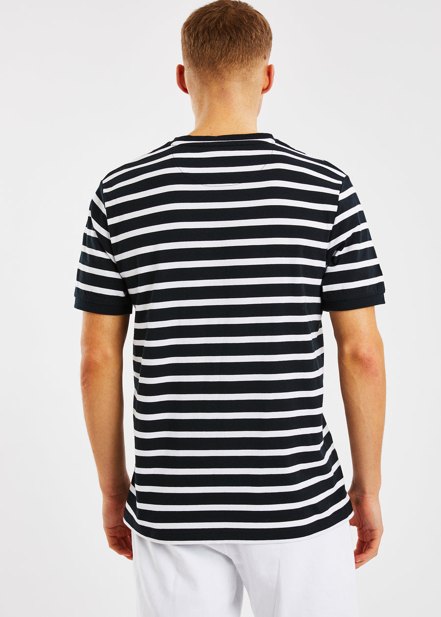 Alee T-Shirt - Black/White
