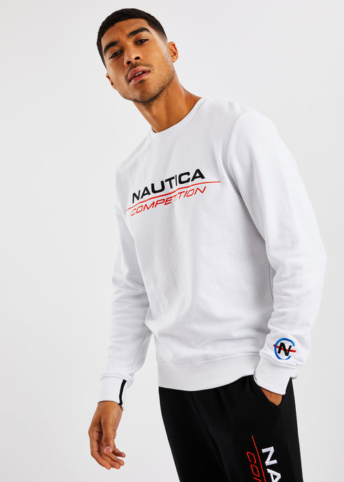 Collier Sweatshirt - White