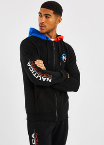 Galliot FZ Hoody - Black