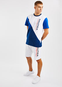 Dodger Fleece Short - White