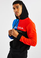 Load image into Gallery viewer, Aweigh OH Hoody - Black/Blue/Red