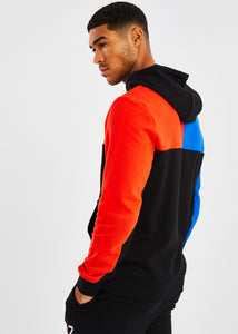 Aweigh OH Hoody - Black/Blue/Red