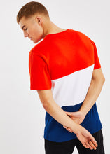 Load image into Gallery viewer, Sayle T-Shirt - Red/Navy