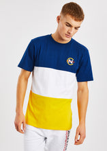 Load image into Gallery viewer, Sayle T-Shirt - Yellow/Navy
