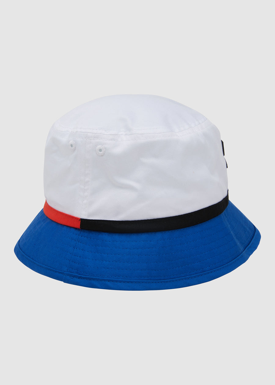Rogers Bucket Hat - White/Blue