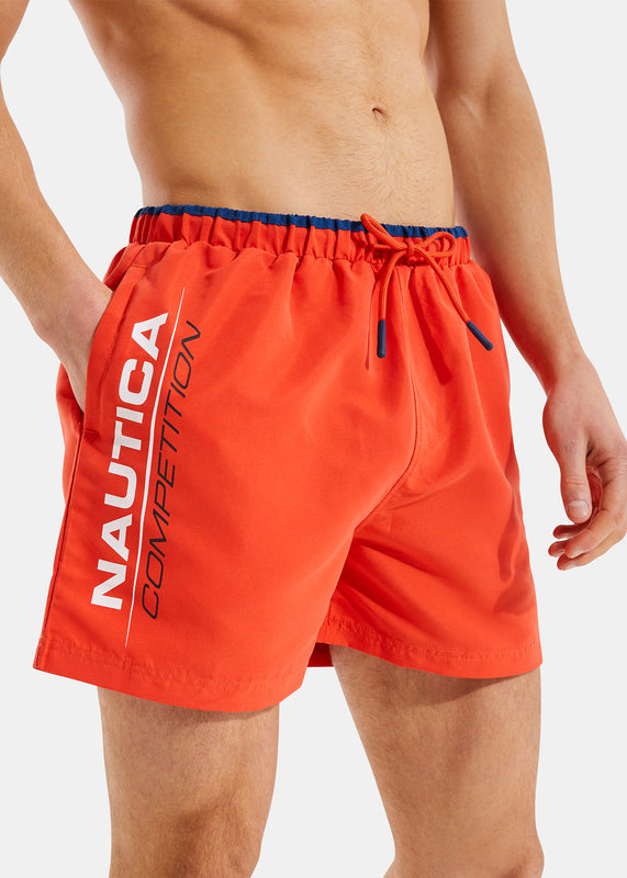 Dunsel Swim Short - Red