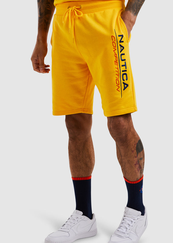 Dodger Fleece Short - Yellow