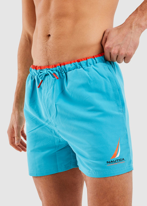 Decks Swim Short - Blue