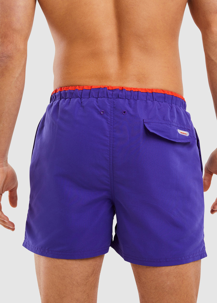 Decks Swim Short - Purple