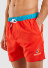 Waveson Swim Short - Red