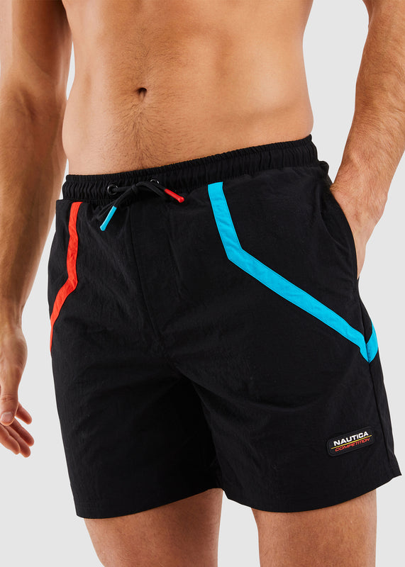 Fiddley Swim Short - Black
