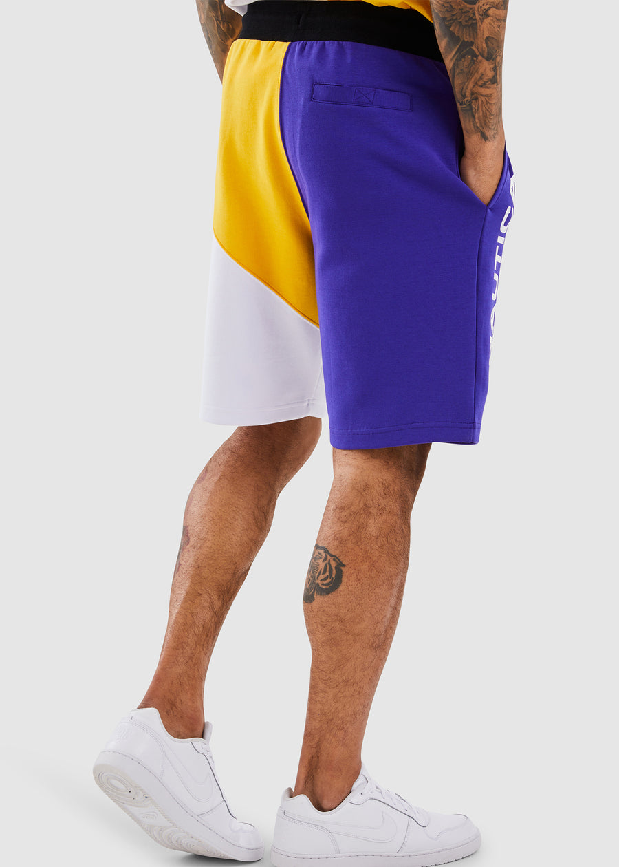 Genoa Fleece Short - Purple