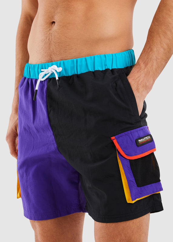 Jackstay Swim Short - Purple