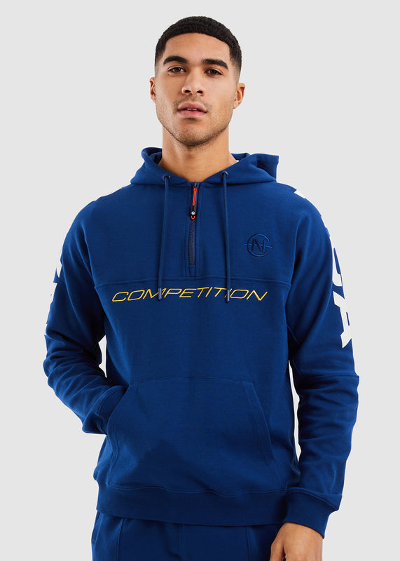 Port 1/2 Zip Hoody - Navy