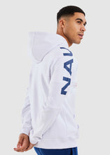 Load image into Gallery viewer, Port 1/2 Zip Hoody - White