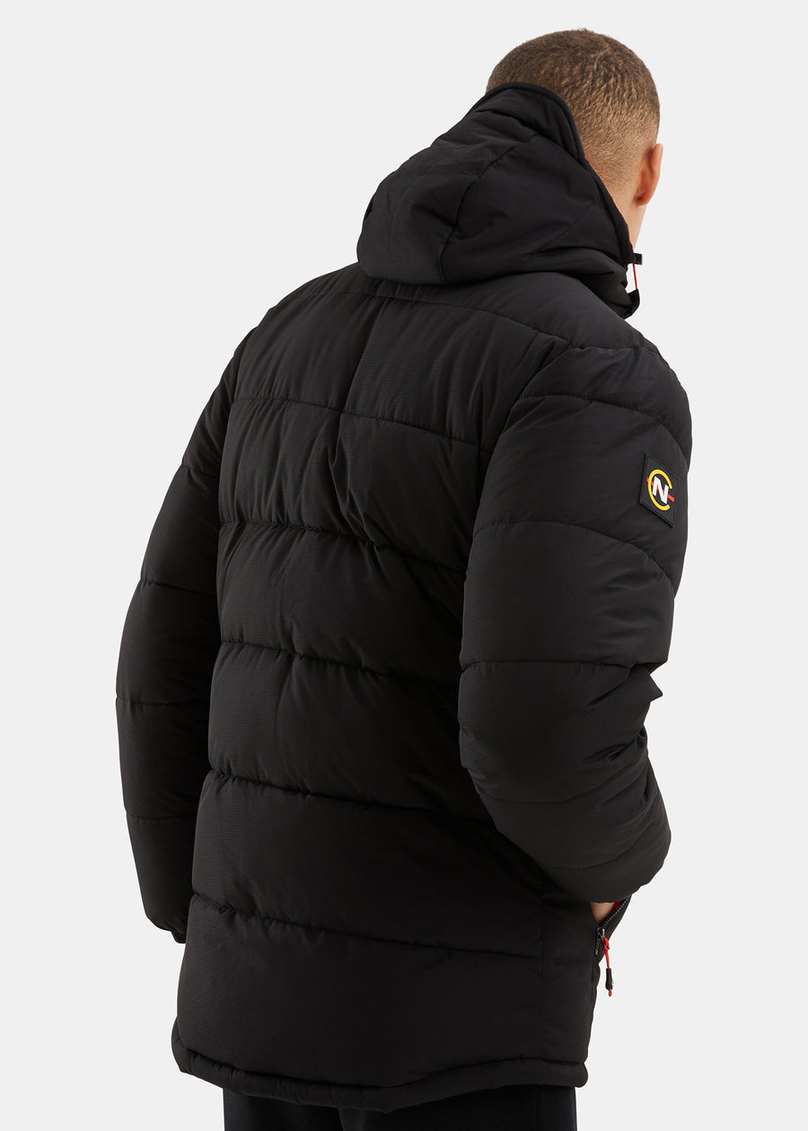 Antigua Padded Jacket - Black