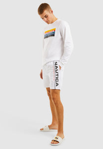 Folsom Swim Short - White
