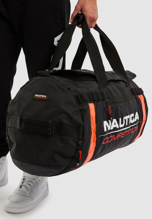Valdez Barrel Bag - Black