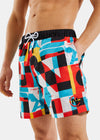 Forebitt Short - Multi Print