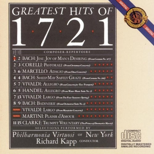 Various Composers - Greatest Hits of 1721