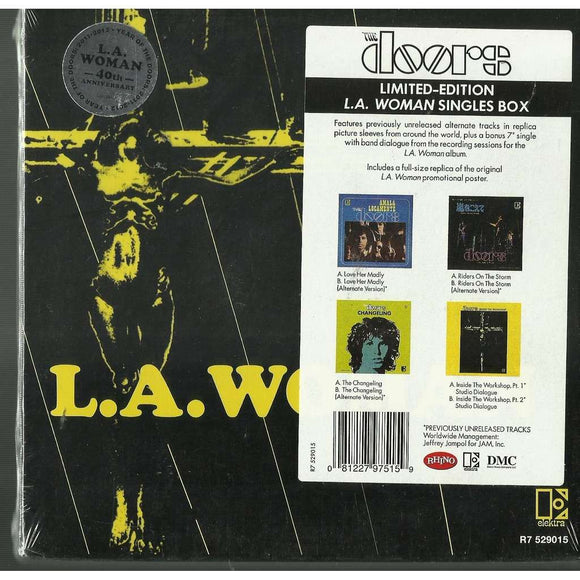 The Doors - L.A. Woman Singles Box