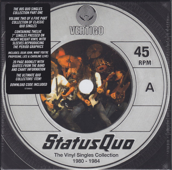 Status Quo - The Vinyl Singles Collection 1980-1984