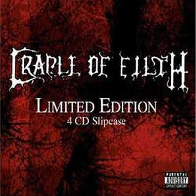 Cradle of Filth - Limited Edition 4 CD Slip Case