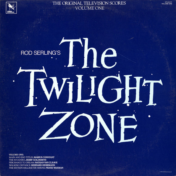 Rod Serling - The Twilight Zone (The Original Television Scores) Vol. 1