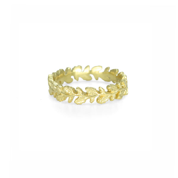 Wreath Ring in Yellow Gold