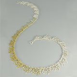 Shaded Garland Necklace