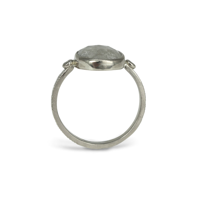 Light Grey Diamond Ring
