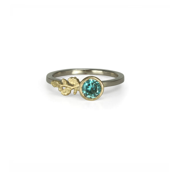Oceanic Oak Branch Ring