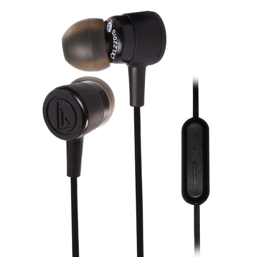 Audio-Technica ATH-CKL220iS-WH in-Ear Headphones with Mic