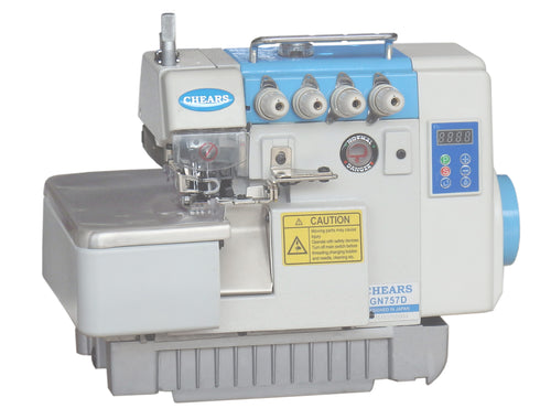 CHEARS 757D Direct Drive Overlock Machine