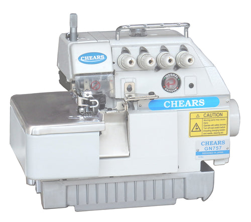 CHEARS 757 Overlock Machine 5thread Complete set