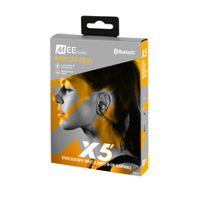 Load image into Gallery viewer, MEE AUDIO X5 Blutooth in-ear sports headphones.