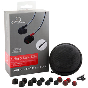 ALPHA & DELTA D2M In-ear Monitors with MIC