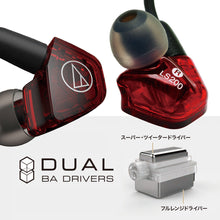 Load image into Gallery viewer, Audio-Technica ATH-LS200IS DUAL BALANCED ARMATURE DRIVERS IN-EAR MONITORS