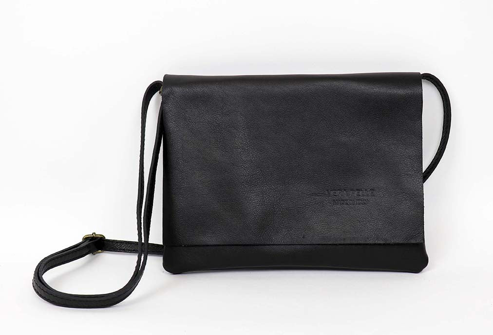 Genuine Leather Envelope Bag Small