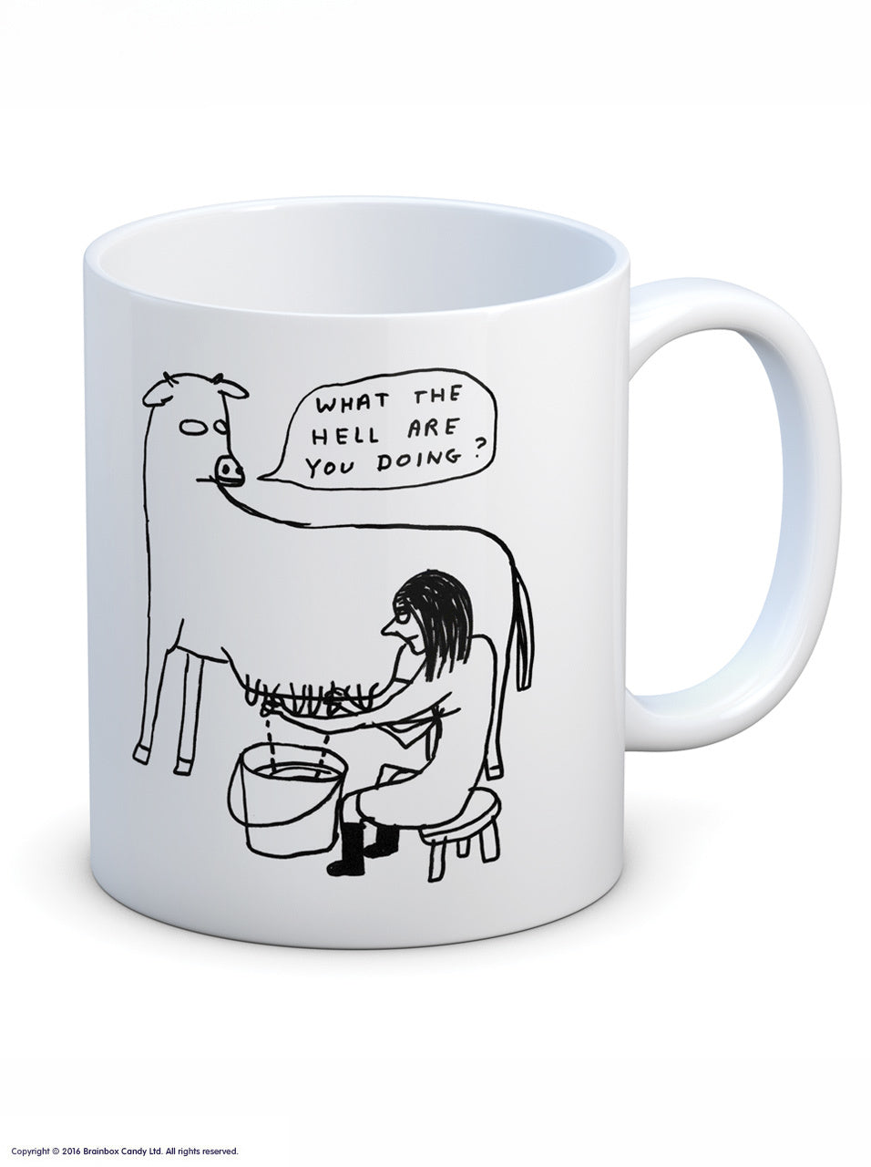 David Shrigley Mugs