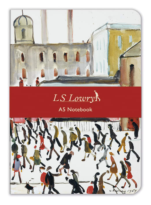 A5 Notebook - LS Lowry Going to Work