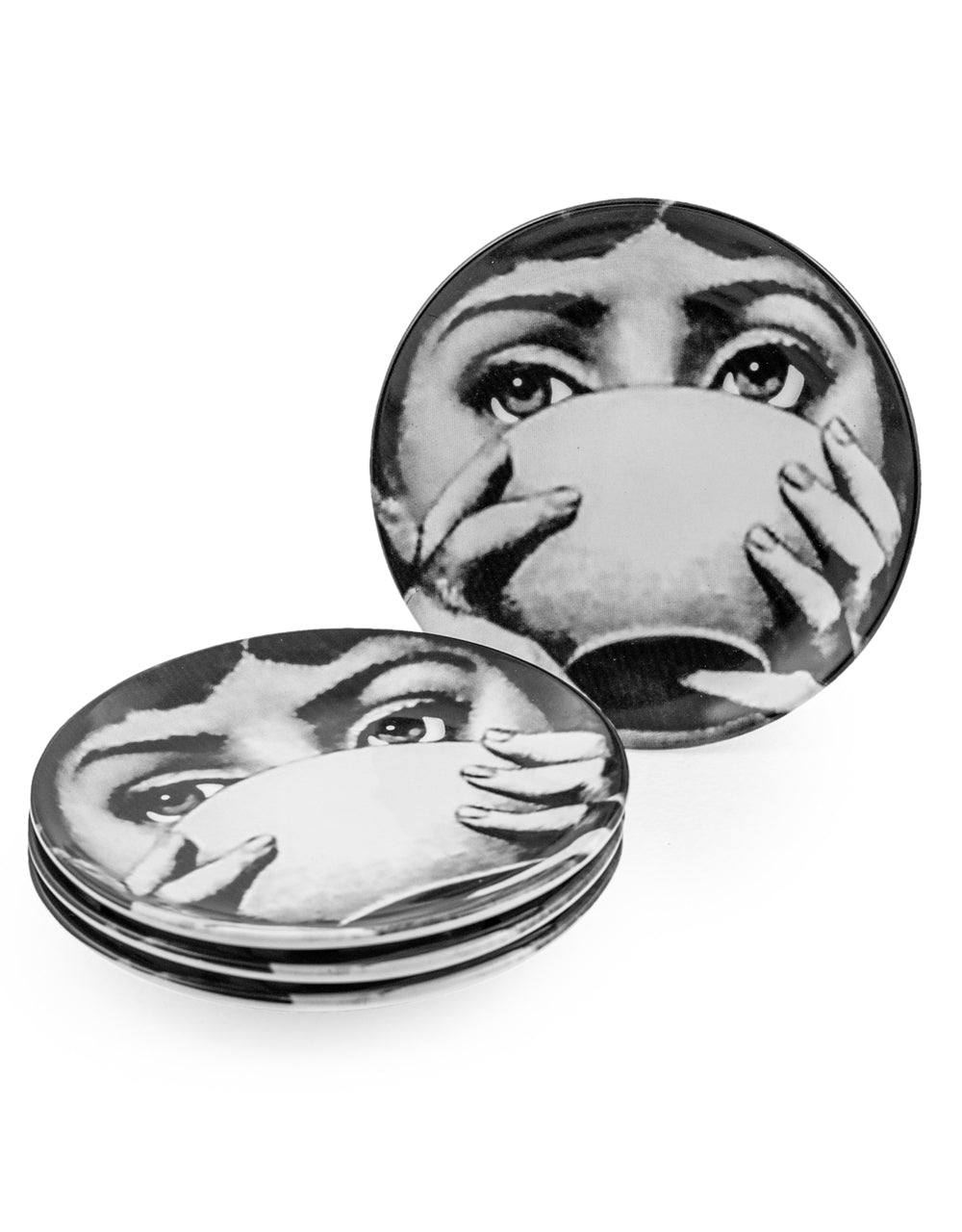 Monochome Face Display Plates
