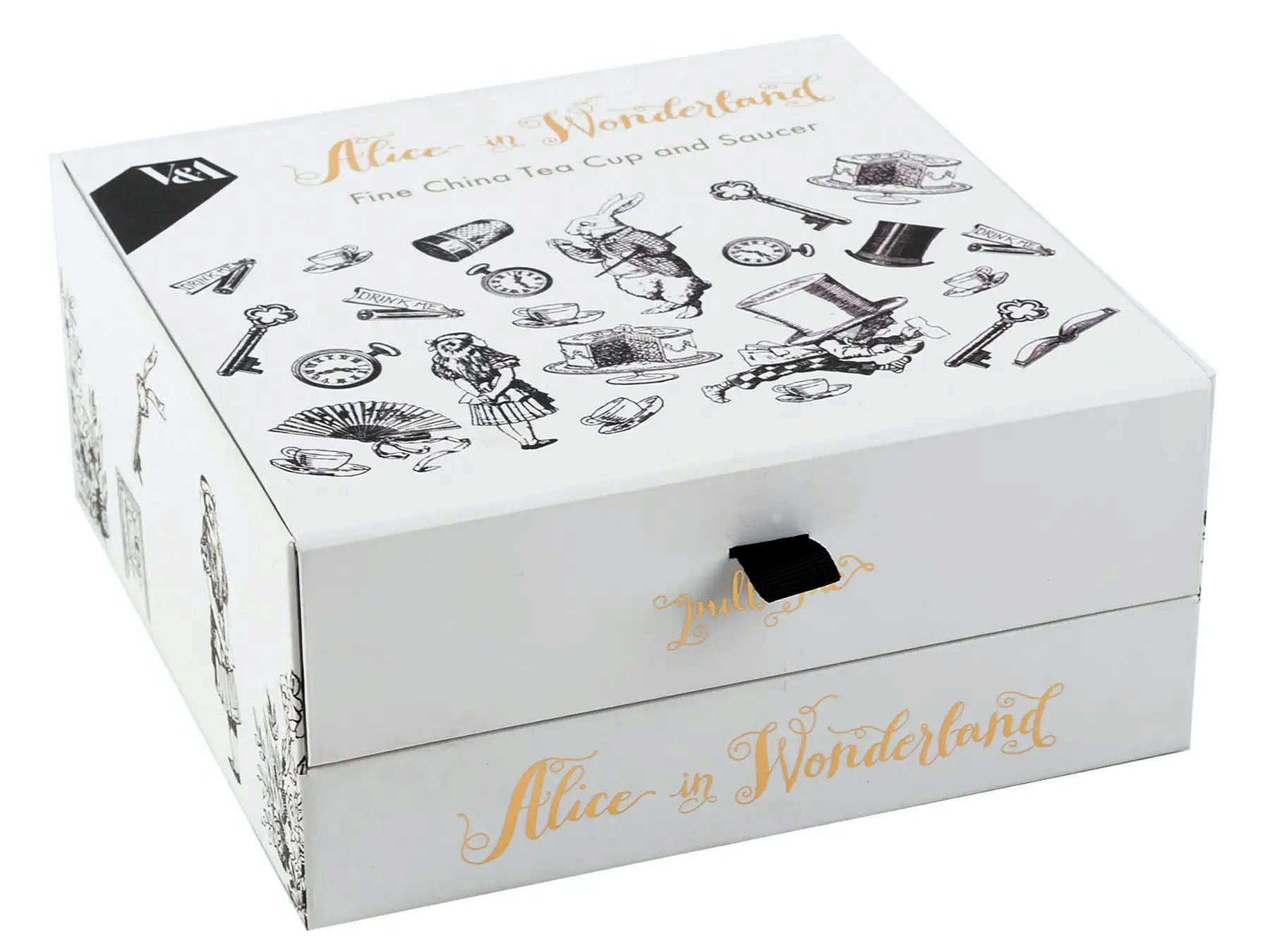 V&A Alice in Wonderland Cup & Saucer Gift Boxed