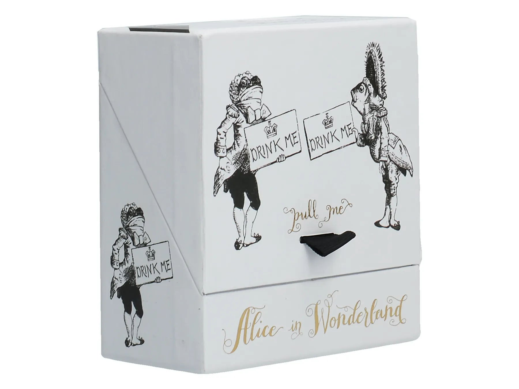 V&A Alice in Wonderland 'Drink Me' Shot Glasses Gift Boxed