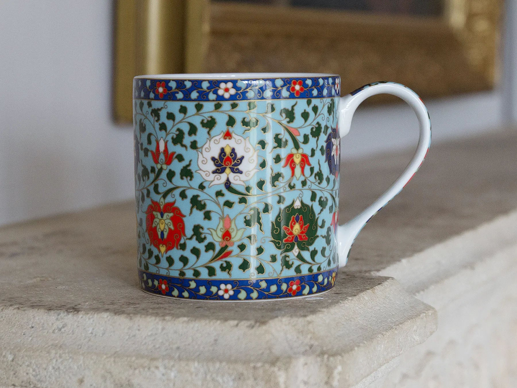 V&A Owen Jones Cloisonne Gift Boxed Mug