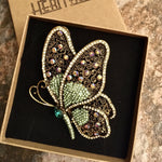 Load image into Gallery viewer, Heritage Large Brooch - Butterfly