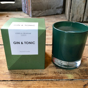 Boxed Glass Scented Candles - Drinks